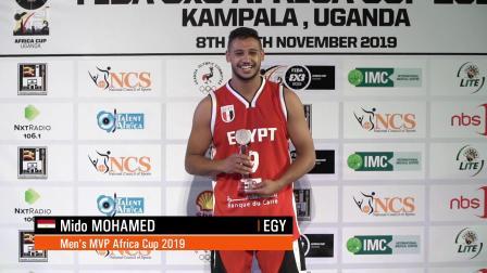 非洲杯男篮MVP——米多·默罕默德