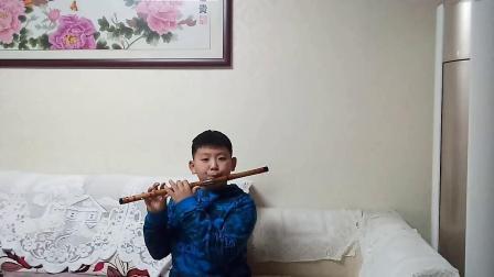 《我和我的祖国》笛子独奏:学生:李铭哲