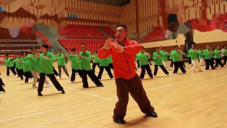 傅清泉传统杨式太极拳教学视频之八