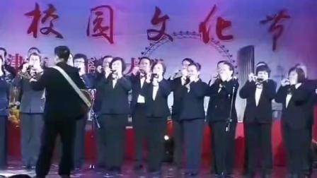 天津市老年人大学-口琴演奏《我和我的祖国》
