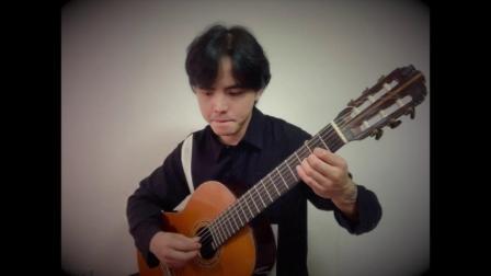 谢予迟古典吉他原创作品——吉米尼小步舞曲