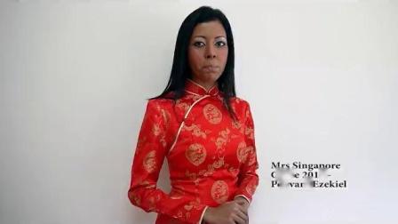 环球夫人大赛国外选手Mrs Singapore个人集锦