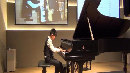 邹宇森10岁钢琴演奏曲目:海顿A大调钢琴奏鸣曲SONATE(HOb.XVI:46