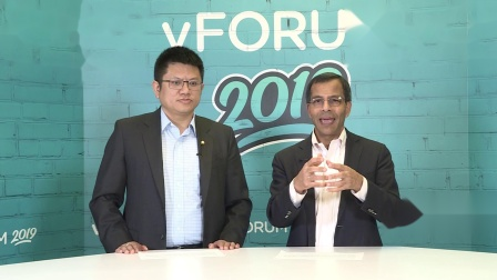 #vFORUM 2019 北京#高层对话——李映博士对话Shekar Ayyar