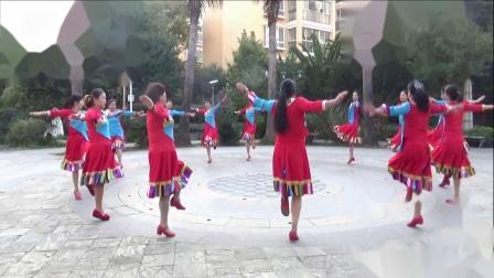 潇洒慧涵★《苗乡侗寨请你来》 团队   编舞:杨丽萍