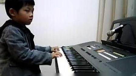 电子琴演奏(初级):欢乐颂_土豆视频