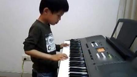 电子琴演奏:四季歌_土豆视频