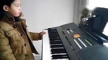 电子琴演奏:雪绒花_土豆视频