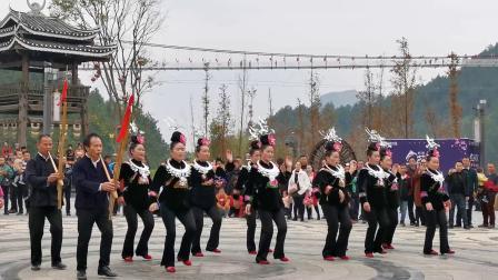 丹寨万达小镇金芦笙民俗文化节(芦笙舞)