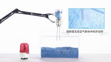 恩德斯豪斯 固体音叉检测液体和固体分界面的视频