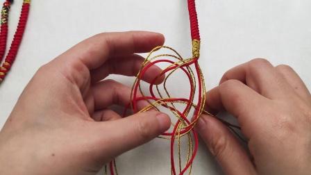 【相印 手绳 扣子式】亲手DIY情人节礼物 把你的名字戴在手上 手链材料包编绳