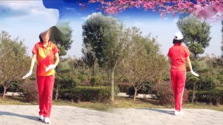 襄阳广场舞健身操第八套第3节肩部运动-竹子演示