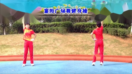 襄阳广场舞健身操第八套第6节《野花香》竹子演示