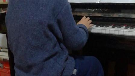 快乐的锅庄跳起来 钢琴
