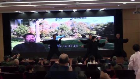 19王永骏团队演练陈式太极拳实用拳法