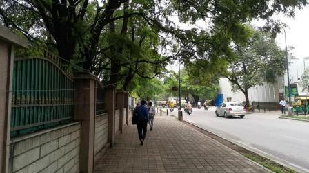 椰子油考察完毕归国13 印度班加罗尔的街头