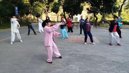 观音拳-上梅林公园(陈露芬)