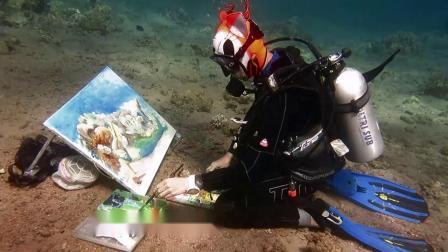 Olga Belka 水下肖像画家