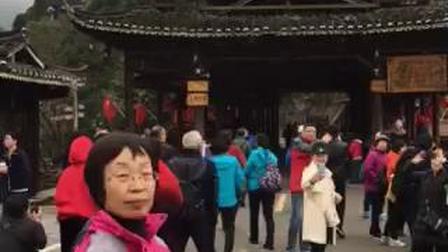 贵州西江千户苗寨全景