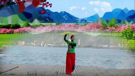 古典伞舞《梦江南》演奏段莹莹、编舞周敏、演绎舞痴、摄像老七、制作新疆花儿