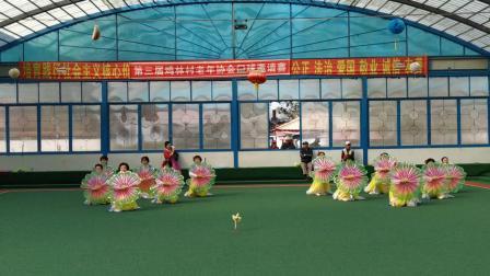 第三届鸡林村老年协会门球邀请赛歌舞表演(1)