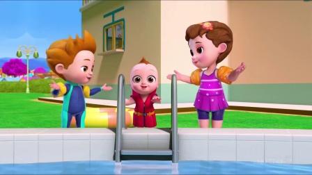 ChuChu英文启蒙儿歌:Baby Goes Swimming Song