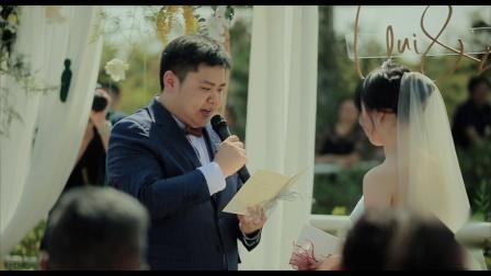 虫巢films | 婚礼电影  良古湖边 GZQ&ZX