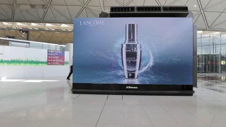 香港国际机场崭新数码媒体——「270°三面数码屏幕」