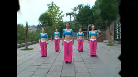 飞扬原创健身操《韩国热舞》曾益英原创 永不被超越
