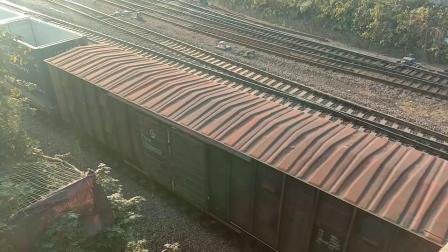 和谐hxn50274货运列车进马鞍山跃进桥