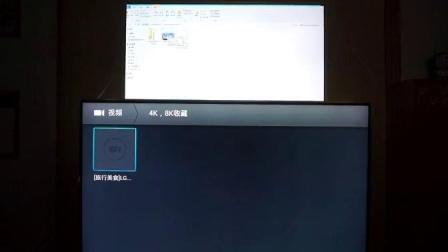 TCL量子点电视4K硬解对比