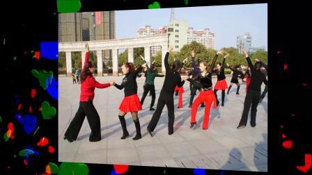 牛仔舞演练:廖仲如。刘晓萍老师