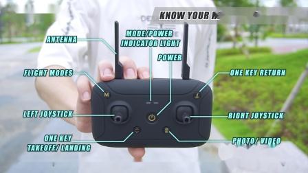 X12操作步骤-02认识遥控器-EN