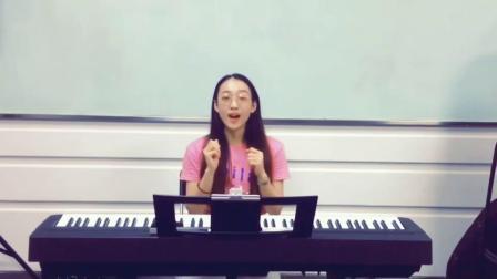 """思彤老师教我们用""""微笑""""来改善声音小声音传播不够强的问题~"""