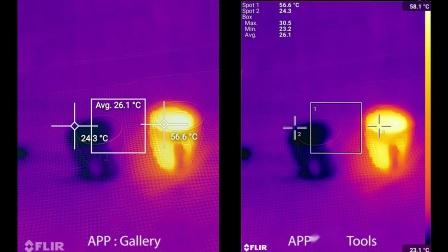 BV9800 pro红外热成像应用