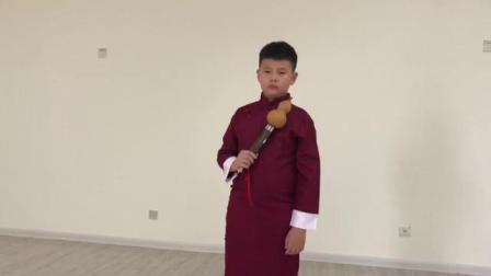 葫芦丝《新编夜深沉》张敬族 九岁,指导老师:张冠军
