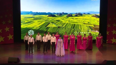 佳木斯市红旗中学校园文化艺术节初一组大合唱
