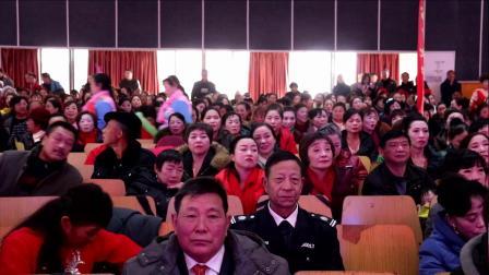 沙洋县老年大学第二届夕阳欢歌校艺节普交舞班