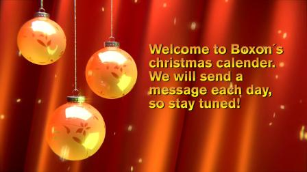 Dec 1 Boxon Christmas Calendar