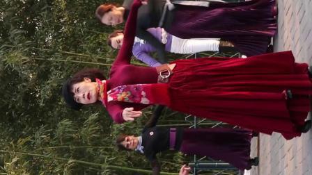 紫竹院广场舞《月满西楼》鲁吉义摄 2019.12.22