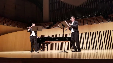 弗朗兹·但齐: 长笛单簧管与管弦乐团小协奏曲Op.41  第三乐章
