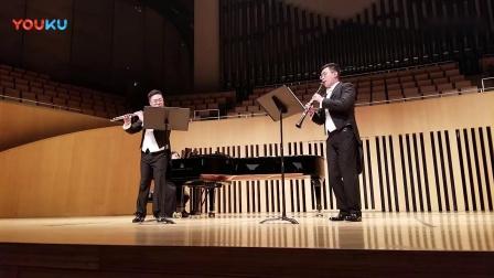弗朗兹·但齐: 长笛单簧管与管弦乐团小协奏曲Op.41  第二乐章_超清