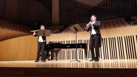 弗朗兹·但齐: 长笛单簧管与管弦乐团小协奏曲Op.41第一乐章