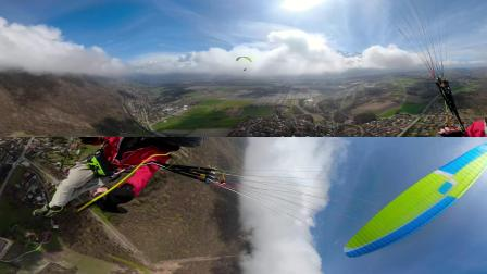 St Hilaire paragliding flight 360 vr