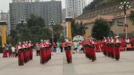 (沸腾的黄土地)2019年广场舞比赛