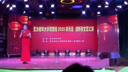 无为老年大学歌舞班2020庆元旦迎新年文艺汇演——舞蹈:《九儿》舞蹈班