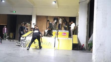 DBH NORTHWARD首映活动 冲突滑板店