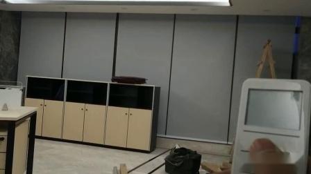 重庆九龙坡区某公司办公室电动卷帘视频展示 01