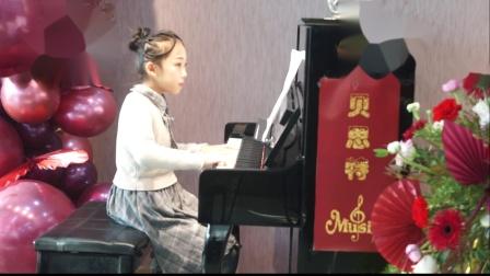 7、贝思特培训学校2020元旦钢琴音乐会姚艺颖《回旋曲》