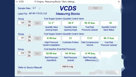 VCDS之FSI高压油轨泄露判断方法
